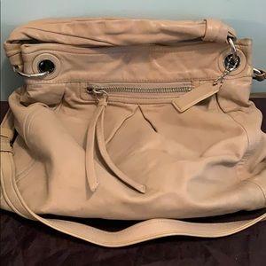 Coach Crossbody Large Parker leather bag beige